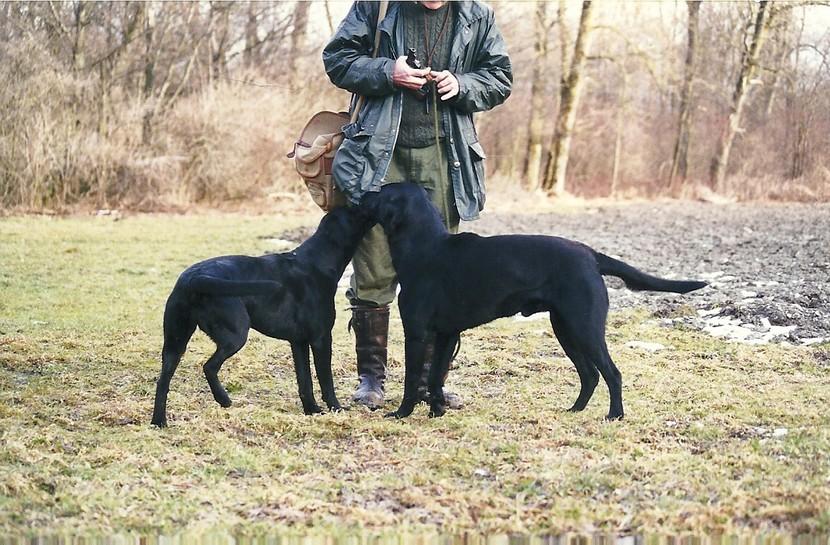 Balia und Crusy - März 2000